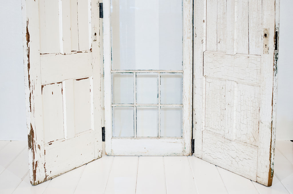 Antique Shabby Chic Doors