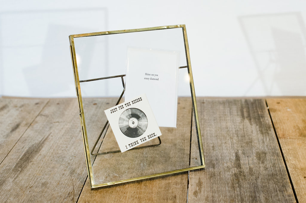 Brass Picture Frames- Vintage Rentals in Connecticut