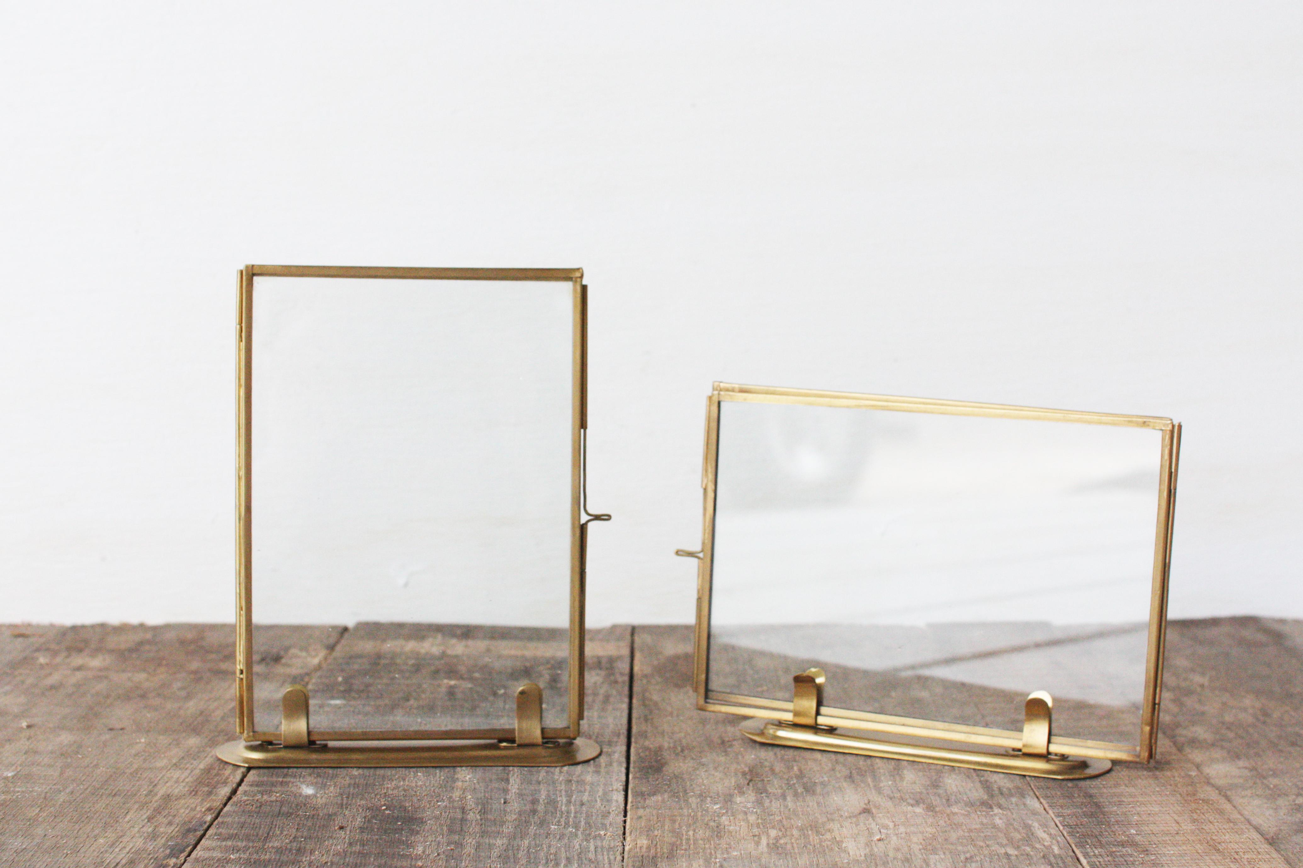 Horizontal Gold Frame - KLW Design