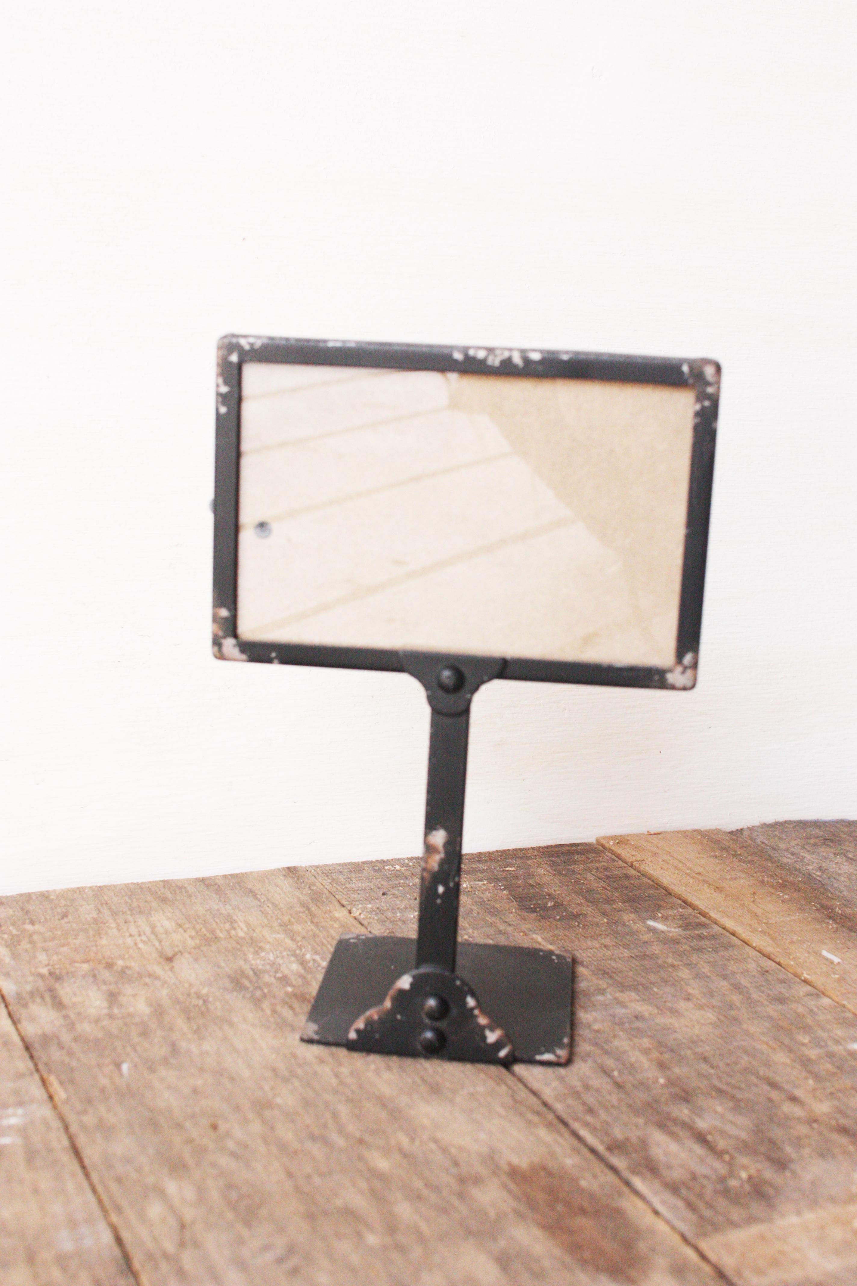 Black Frame Table Number Holders Klw Design