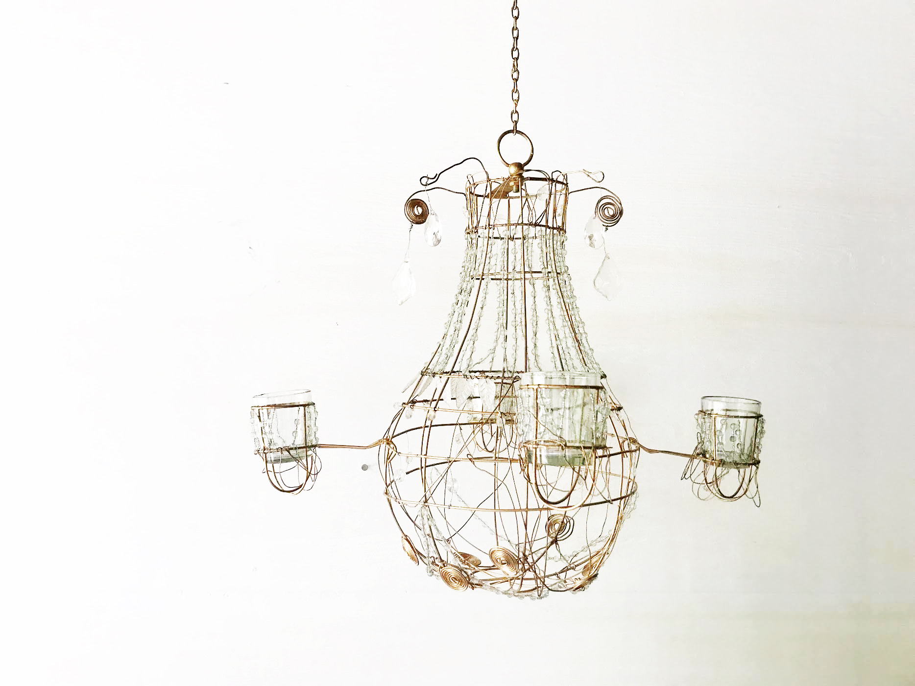 Crystal Wire Chandelier KLW Design