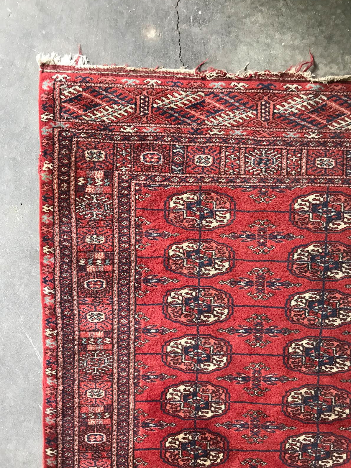 Red Turkish Rug Klw Design
