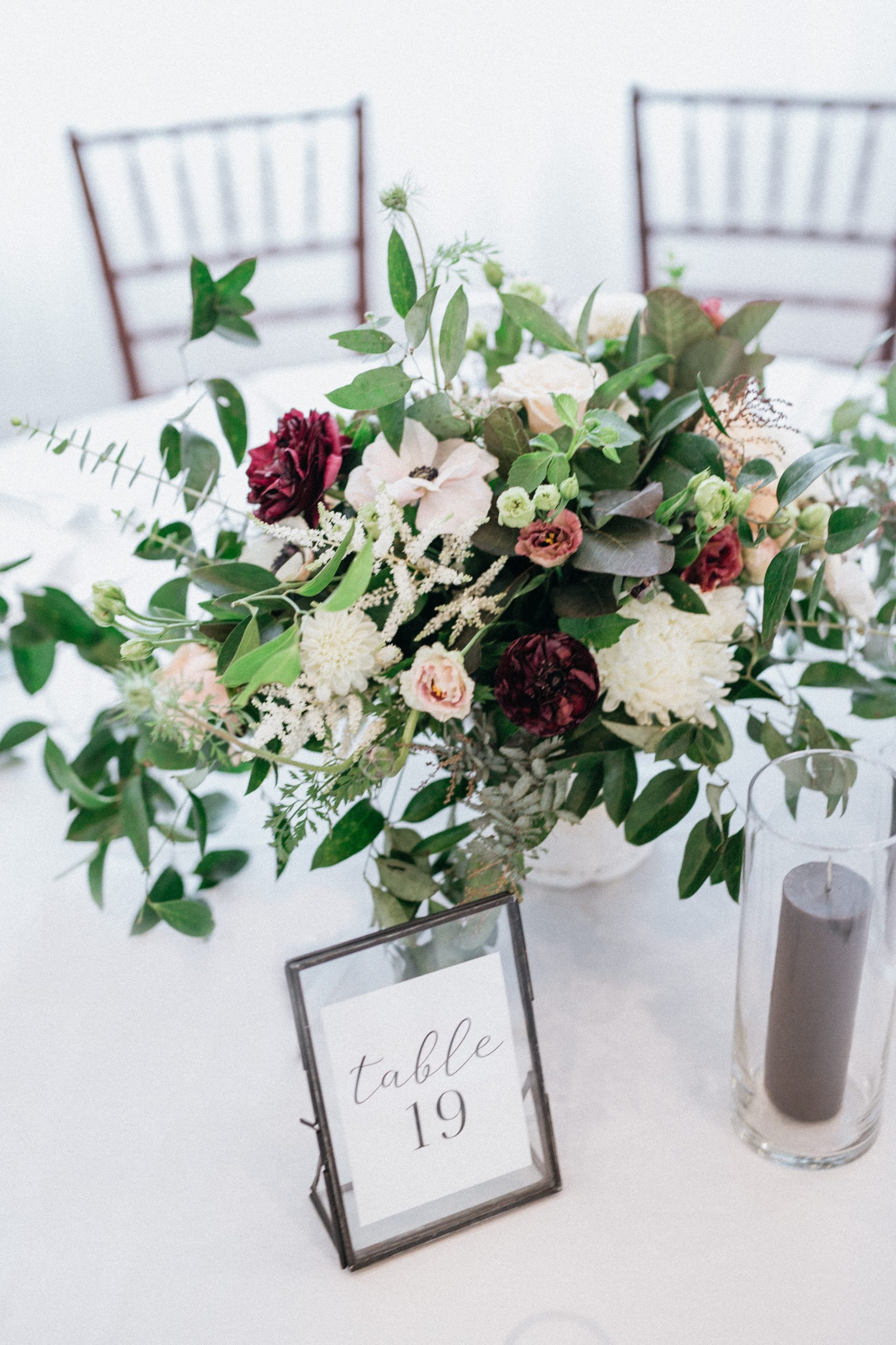 belle mer wedding flowers