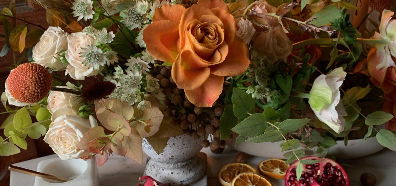 thanksgiving flower centerpiece
