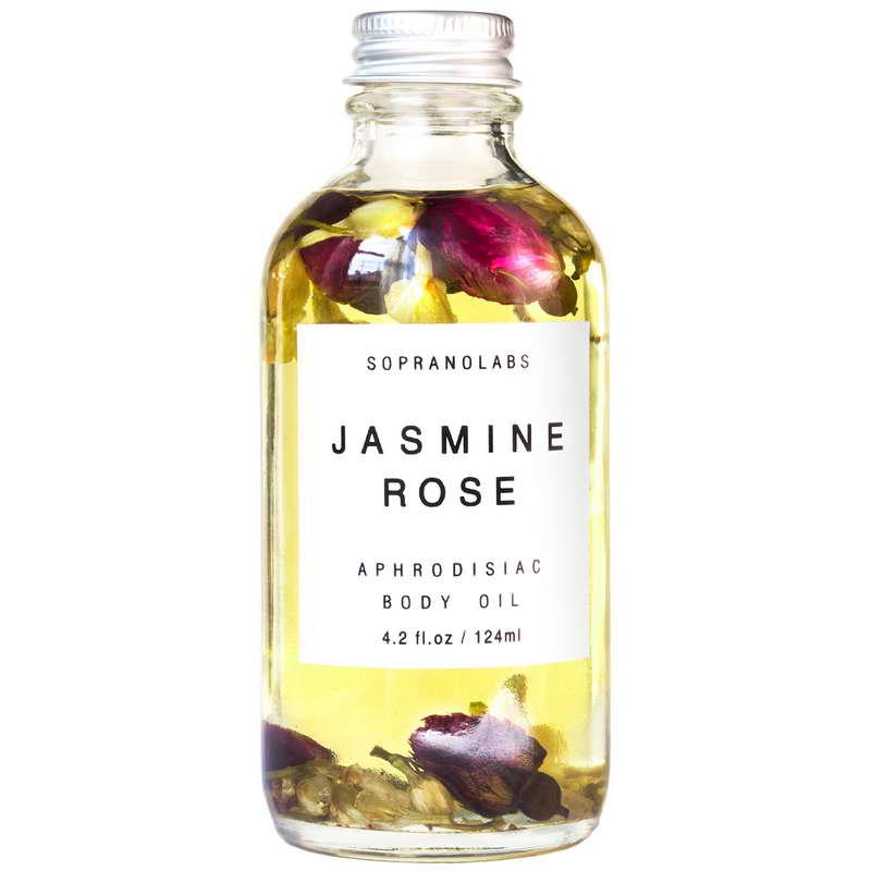 Jasmine & Rose Sensual Body Oil
