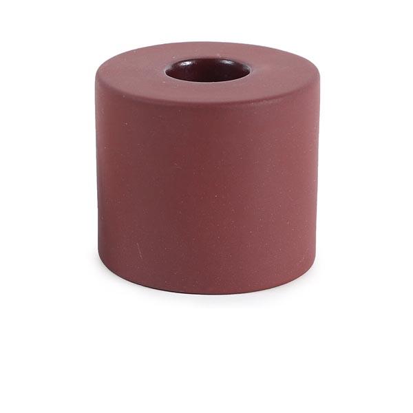 claytaperedcandleholder