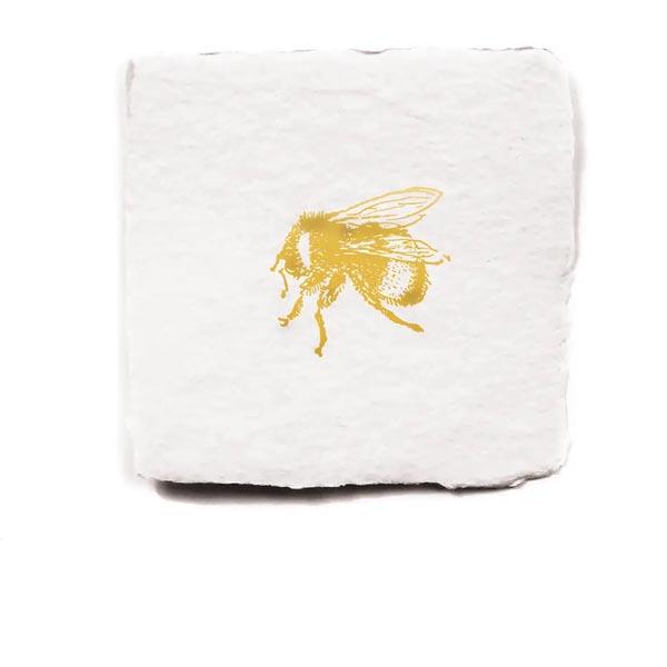 blank bee card